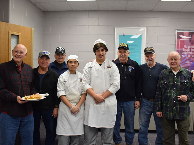 Morning Meal Brings Culinary Students, Veterans Together  Default