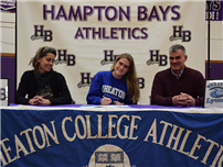 Softball Player Signs with Wheaton College photo