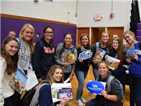 Hampton Bays Students Explore College Options photo