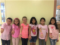 K-Kids raise funds for Breast Cancer Society photo