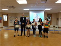 Students win Fire Tablets for Book Reviews photo